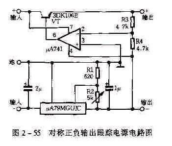 【图】基于ua78guic或ua79mguic的典型应用电路图