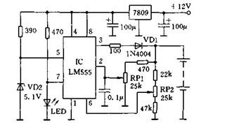 电池电压调节充电器电路的介绍