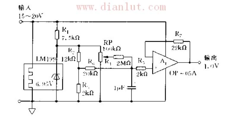 基于LM199芯片设计标准电源电路