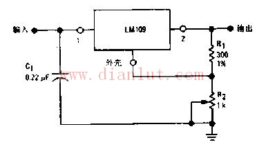基于LM109的三端可调稳压电路