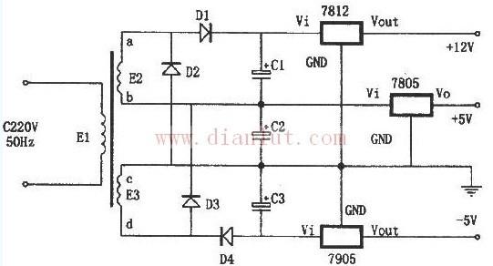 【图】特殊的线性稳压电源电路电源电路