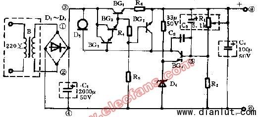 新型简易的电源集成电路