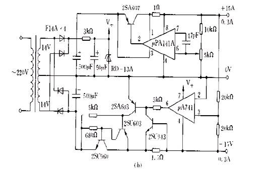 跟踪稳压电源电路及影响因素