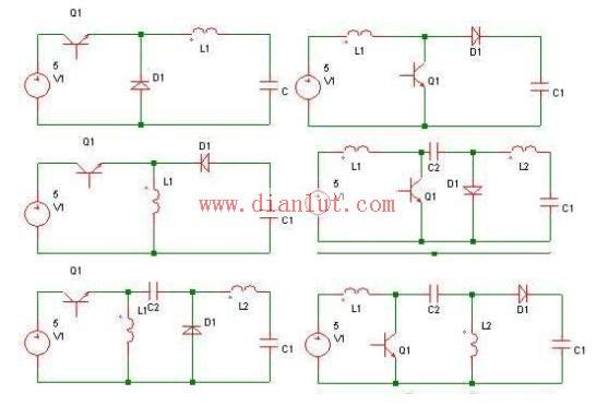 DC-DC变换器拓扑电路