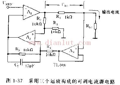 【图】高效简易可调电流源电路电源电路