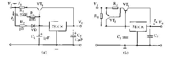 基于稳压管的大范围电流输出稳压电源电路