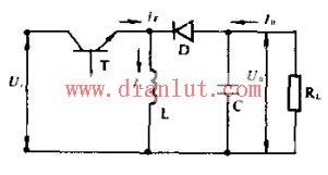 极性反转式开关稳压电源电路