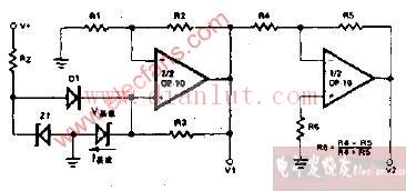 精密双路基准电压源电路原理图