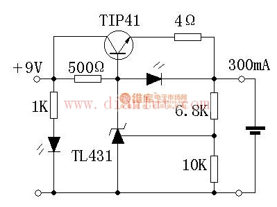 【图】简易锂电充电器电路电源电路