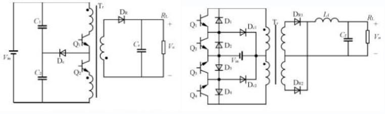 隔离三电平DC-DC变换器电路