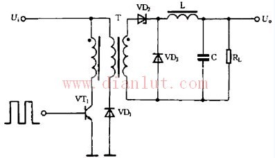 【图】单端正激式开关电源原理电源电路