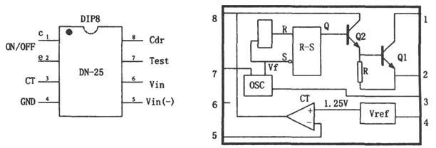 集成电路基于DN-25的开关稳压电源