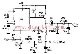 在生产中用以构成直流脉冲调速电源和开关式稳压电源.-直流变换电图片