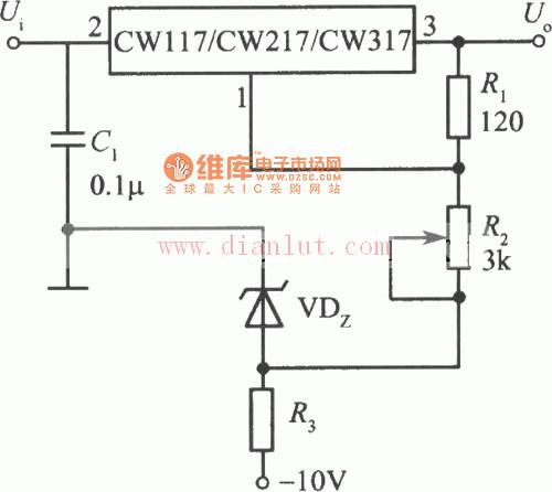 连续可调集成稳压电源电路图如图所示.可调稳压电源简单的说就是图片