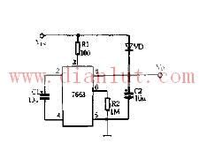 NJU7663构成两倍压电路及说明