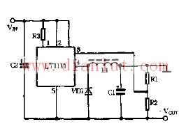 基于LT1111芯片组成电压翻转模式电路