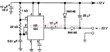基于NE555芯片设计低功坦率流二倍压电路