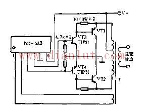 大功率三极管作为输出管用的电路