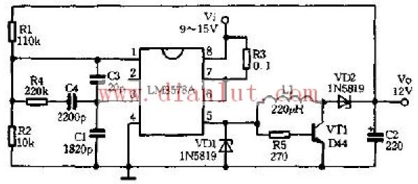 降压升压稳压器电路原理图