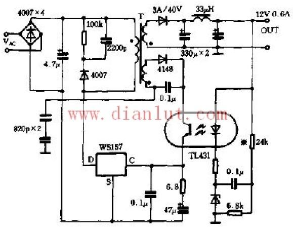LM317/337高精度稳压电路