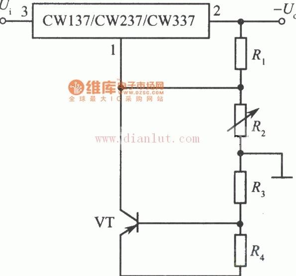 高稳定度集成稳压电源之三电路