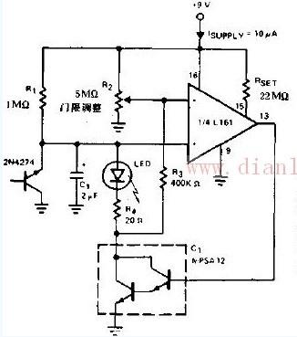 低压电池指示器电路图