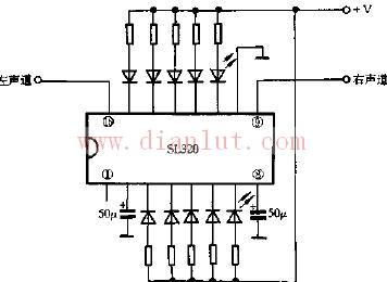 电平指示器电路