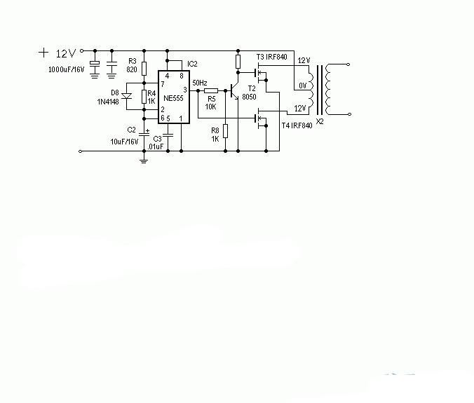逆变电源电路图