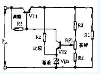 【图】晶体管稳压电源电路图电源电路