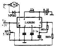 由LAS6350构成的电机控制电路图