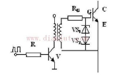 【图】脉冲变压器隔离驱动igbt电路原理图电源电路