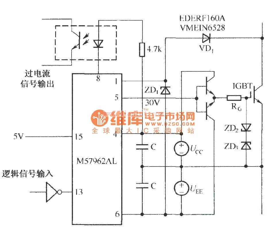 m57962al典型应用电路图
