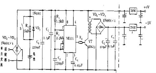 数字录音电话电源电路设计