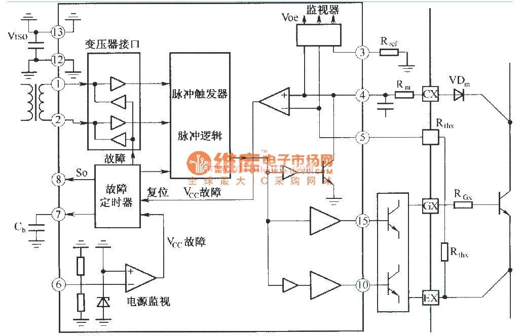 【图】igd驱动器的内部结构框图电路原理图电源电路