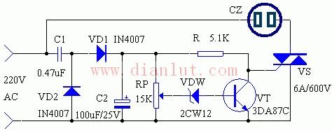 【图】家电过压保护电路原理图电源电路