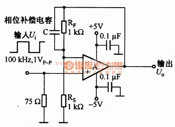 电流反馈动放的反馈电阻电路原理图