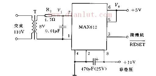 【图】采用变压器隔离的电源电路原理图电源电