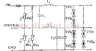 基于瞬态抑制二极管的新型保护电路