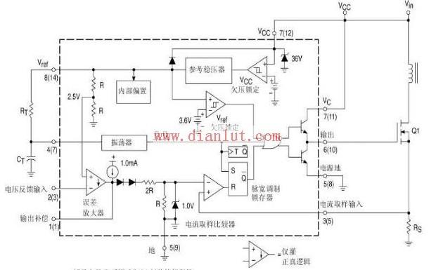 uc3845应用电路原理图图片