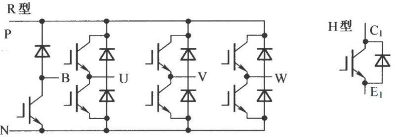 ipm封装形式及电路原理