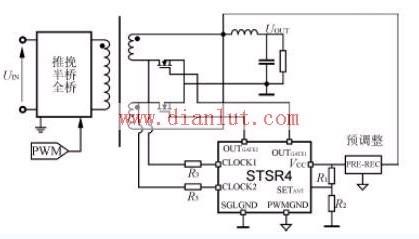 STSR4在双端拓扑结构的应用