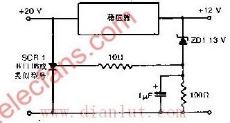 快速动作的电源保护电路原理