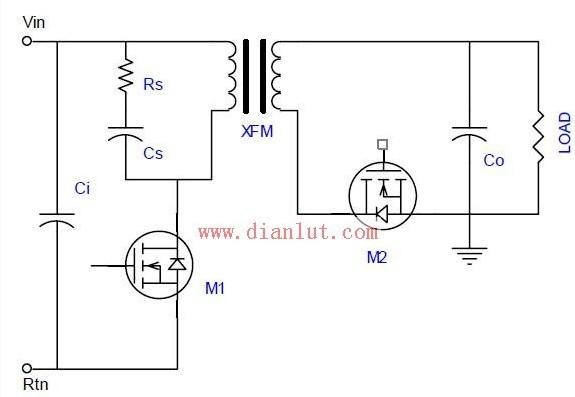 【图】反击型电源电路基础电路
