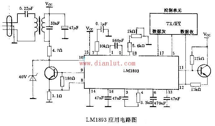 LM1893应用电路原理图