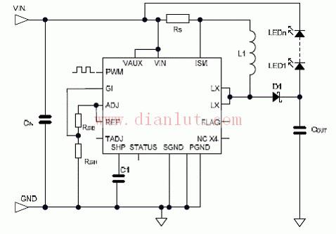 D1374应用电路原理图-TEA1533内部电路图图片