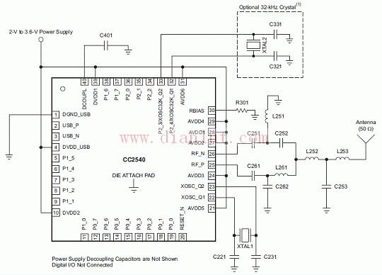 CC2540电路图及应用
