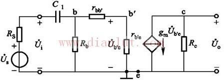 低频等效电路原理图