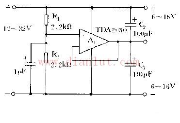 LM4781辅助功放电路原理