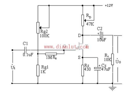 结型场效应管及其共源级放大电路