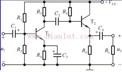 【图】阻容耦合电路原理图基础电路